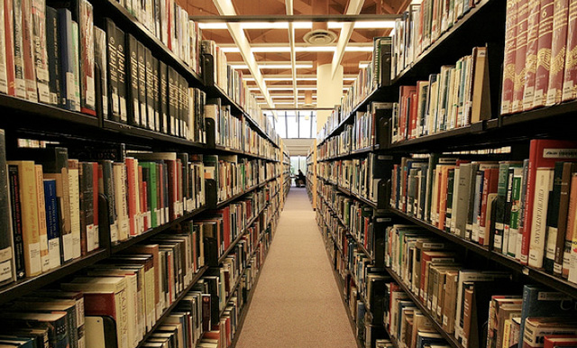 It may be a little old school, but the stacks are a gorgeous sight.
