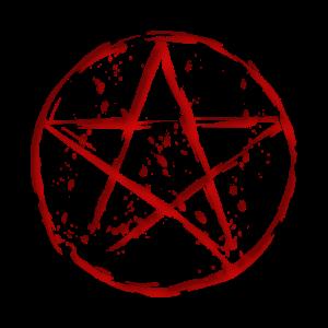 blood pentagram