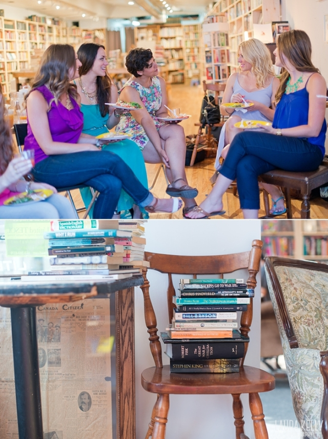 Ottawa Book Clubs - Ladies Book Club Party Ideas - Laura Kelly Photography the Unputdownable Book Club_0014